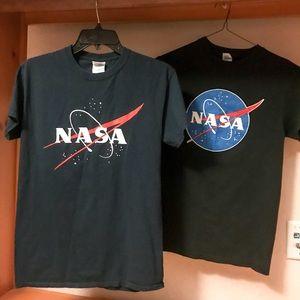 Tops - Nerd Bundle of 2 NASA Shirts 🚀